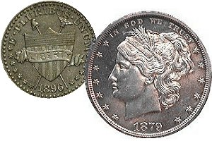 1891 Half Dollar Patterns